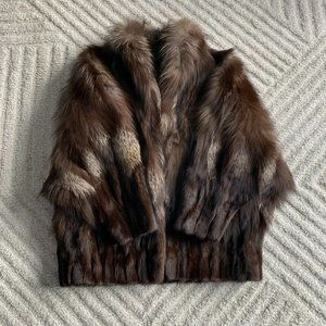 Brown Fur Coat, Medium